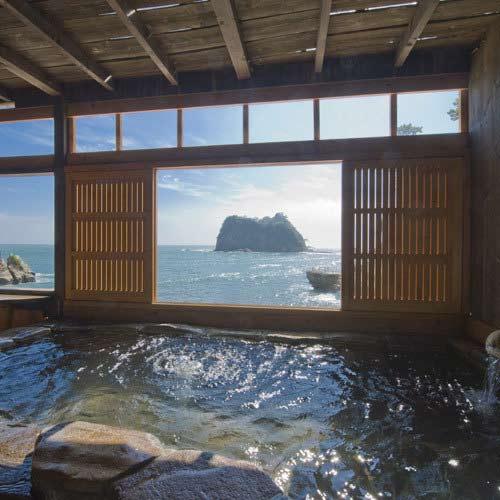 堂ヶ島温泉 海辺のかくれ湯 清流 画像
