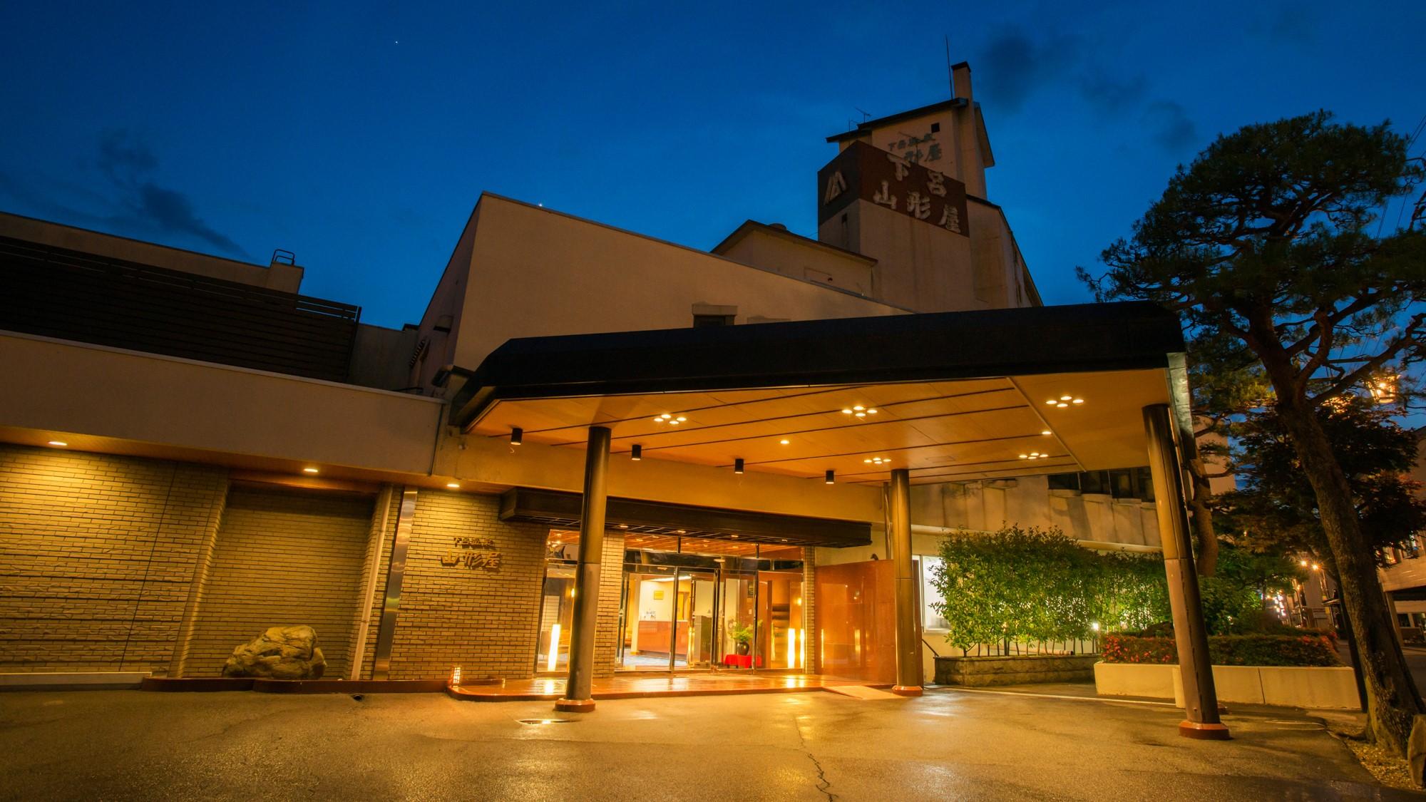 出張で下呂温泉へ宿泊します。露天風呂がある宿を教えて下さい。