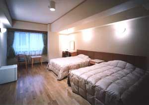 ツインルーム(Wベット2台)全室 禁煙室