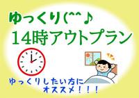 ゆっくり☆14時アウトプラン(室数・期間限定)VOD見放題