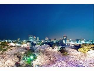 【早】20日前<朝食付>福岡観光は緑多い・大濠へ♪