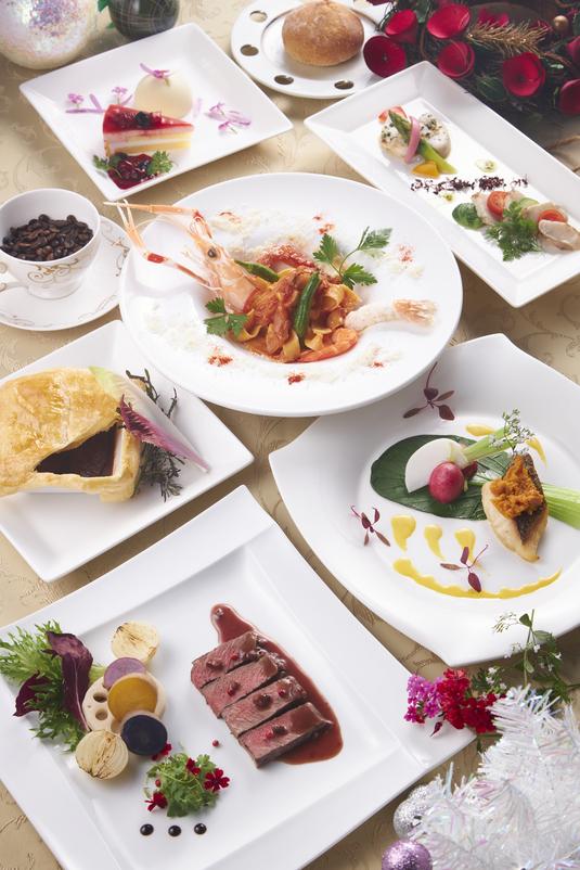 【ディナー付】冬の特選アマリアコース満喫プラン(2食付き)