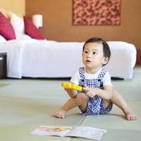 【赤ちゃんホテルデビュー】洗い場バス付畳スイート<駐車場無料&お子様用アメニティ付> 赤ちゃん歓迎