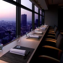 ホテル最上階「日本料理なかのしま」で美しい夜景と夕食を【夕食付】