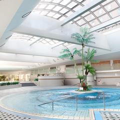 【アップグレード&駐車場無料】高層階・自然がテーマのフロア☆カフェラウンジもプールも使える!