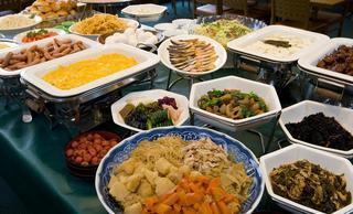 朝食改革宣言!健康には朝サラダ。 シングル朝食付