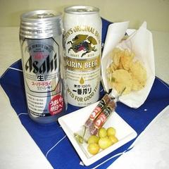 Web限定【スタッフおすすめ!缶ビール付プラン!】朝食付