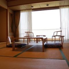 【オーシャンビュー】禁煙和室8畳(トイレ付)