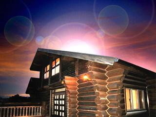 1棟まるまる貸切型ログハウス