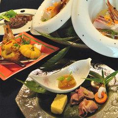 【秋】≪美食旅≫鮑&A5和牛石焼&松茸&幻の黄金蟹〜至福懐石〜