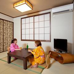 1階 【ヒノキ露天風呂付】和洋室 (約14畳・ツイン)