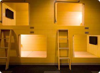 話題のカプセルホテルで眠ってみたい!