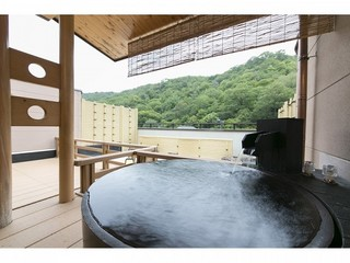 【露天風呂付】和室 山霞