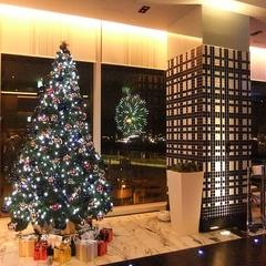 【感動夜景レストラン】大切な人と過ごす特別なクリスマス!「クリスマスフルコースディナー」 2食付