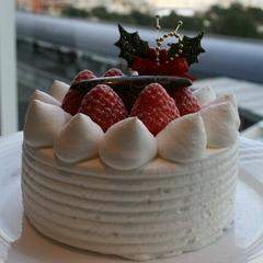 【感動夜景+ルームサービス】大切な人と二人で…クリスマスケーキ+スパークリングワイン+朝食付