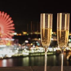 【感動夜景レストラン】クリスマスディナー(¥10,000)ブッフェ(18時〜19時40分) /2食付