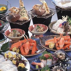 【春得プラン】佐津海岸☆料理自慢の大将おまかせで香住の季節を満喫!ドライブにも最適です