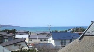 日本海の夕日の見える眺めの良い和室7〜8畳