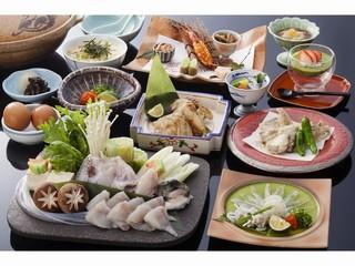 29・30年【冬】とらふぐ彩り膳プラン◆露天風呂付客室◆