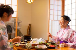 【レイトチェックインOK♪】母屋客室 一泊朝食付きプラン