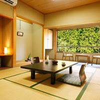 【和室10畳】美山川ビュー確約◎くつろぎのお部屋
