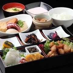 【夕食&朝食付き】料理長自慢!!牛鉄板焼き&天ぷらセットの夕食付