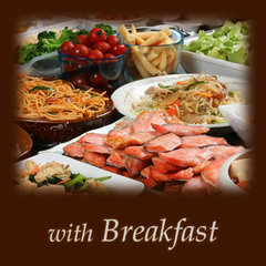【楽天スーパーSALE】12%OFF【地元食材を活かした20品目以上!】手作り朝食バイキング付