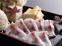 【欲張りなアナタに】《和牛ステーキ》&《鮮魚のどぐろ》付−KAKIMOTOYA−旬会席(お部屋食)