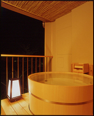 露天風呂付客室(夕食お部屋食指定)
