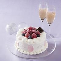 カップルプラン【スイートクリスマス】〜クリスマスケーキ&シャンパン付!〜