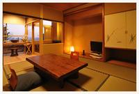 【一人旅】朝夕お部屋食&露天風呂付き客室で過ごす優雅な夜
