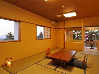 12畳角部屋 露天風呂付き客室 朝夕お部屋食