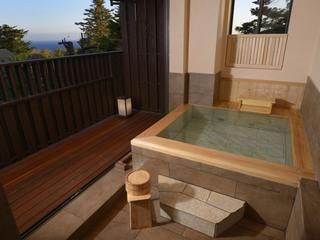 「特別室」リニューアル露天風呂付き客室&朝夕お部屋食
