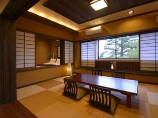 「禁煙」リニューアル特別室・和室10畳+ベッドルーム付