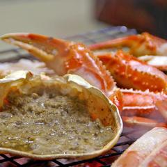 【ファミリー】焼き蟹とカニスキの大満足プラン
