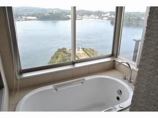 【新館】温泉展望風呂付●オーシャンビュー和洋室●
