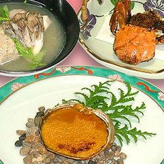 【グルメ】当館人気NO1!モクズガニ川蟹料理贅沢プラン♪