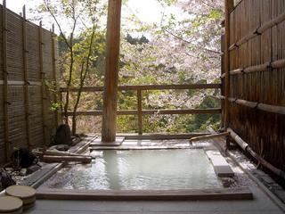 【春得】二人っきり花見露天を無料貸切、女性半額、秘湯おこもり美肌にごり湯カップルプラン(平日限定)