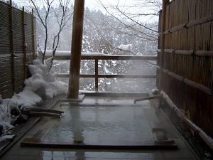 【カップル限定】二人っきり雪見露天を無料貸切、女性半額、秘湯美肌にごり湯カップルプラン【平日限定】