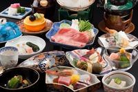 【露天風呂付客室 京近江】 おもてなしプラン 夕食:お部屋食(4名様まで)、朝食:和食セット料理