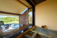 【本砂金】2つの露天風呂・和ベッド・テラス付き和洋室