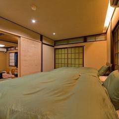 3世代、グループ旅行に!和室11畳+6畳ツインベッドのんびり湯めぐりモニタープラン「母里の湯」入浴付
