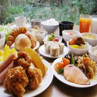 【GW】ポイント10倍 和洋30種メニューの朝食バイキングが無料♪