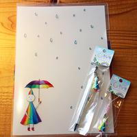 虹と海オリジナル☆ステーショナリーグッズ♪お土産付き宿泊プラン