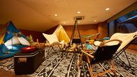 【期間限定】1日1組◇リゾートホテルでグランピング体験◇富士山の恵みを身体全体で体感できる1泊2食付