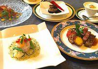 近江、大自然の恵みを堪能する、スペシャルフルコース全7皿ディナープラン
