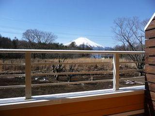 富士山眺望!バルコニー付【洋室:シングル】『完全禁煙ルーム』