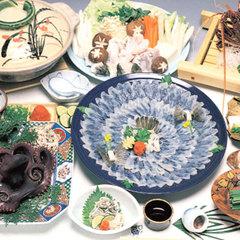 日間賀島の冬の味覚★ふぐ★デラックスコース