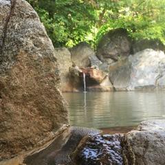 開放的な露天風呂も好評♪リーズナブル素泊まりプラン