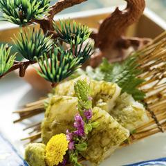 【白えび会席】4月解禁◆7種のお料理◆ほのかに甘〜くとろける♪富山湾の宝石